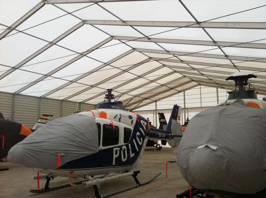 Hangares para Helicópteros